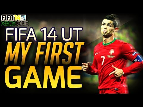 XBOX ONE| FIFA 14 ULTIMATE TEAM| MY FIRST GAME!