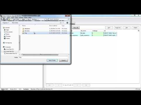 Create Database and Table with SQLite on addon Firefox