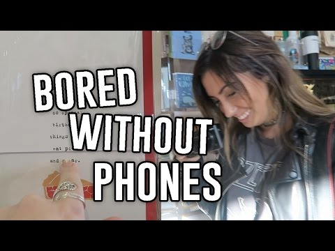 what we do when our phones die... // ExtraJill
