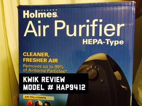 Review Holmes HAP9412B UA Small Room HEPA Type Air Purifier Amazon