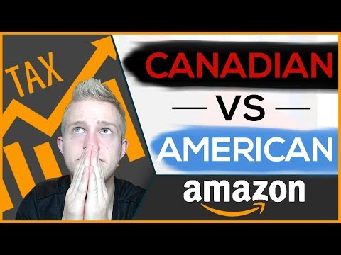 Amazon FBA Difference For Canadians vs Americans | Taxes, LLC's, Shipping and More!