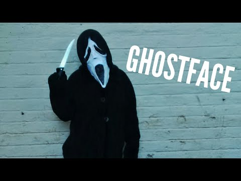 Ghost Face From Scream/ Scary Movie - Paper Mache Mask Making Tutorial