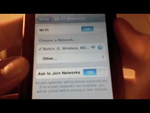 How To Connect To WiFi On IPod Touch/IPhone. (Updated)