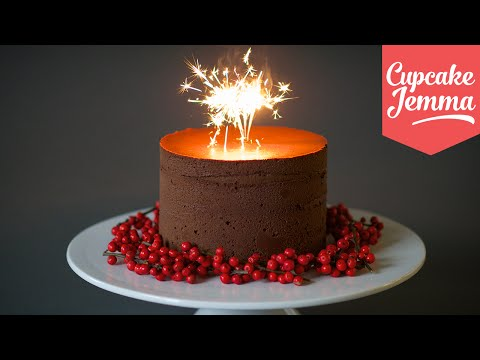 Recipe for the Richest Chocolate Truffle Cake ever! | Cupcake Jemma