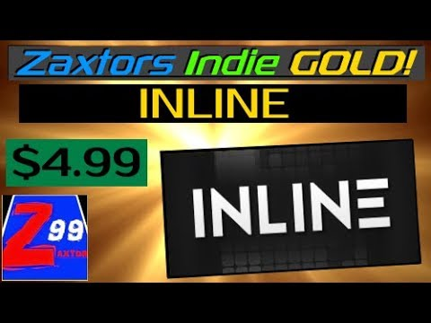 Zaxtors Indie GOLD! - Inline - First Impressions and REVIEW! - Is This Casual Shape Game Worth $5 ?