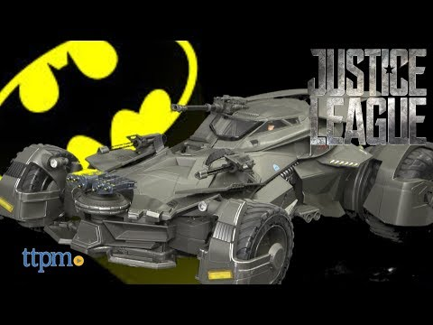 Ultimate Justice League Batmobile 1/10 Scale Collectible from Mattel
