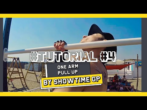 ONE ARM PULL UP TUTORIAL WITH ANDREA LAROSA