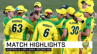 Haynes, Jonassen secure big win for Aussies | Second CommBank ODI