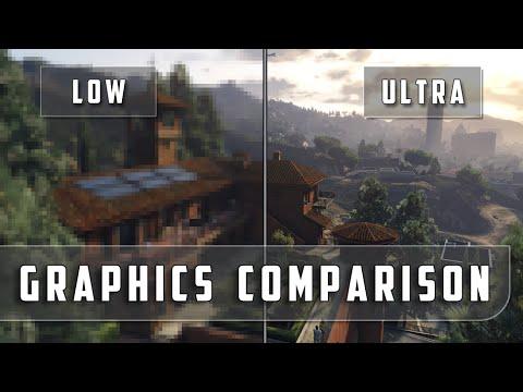 Grand Theft Auto 5 – Low vs. Ultra Graphics Comparison [FullHD][60fps]
