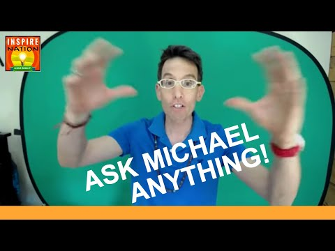 ASK Michael Anything!   How to Step Forward Towards Your Dreams & Learn to Love Yourself