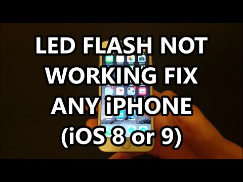 iPhone 6S LED Flash for Alerts Not Working? Solution Fix iOS 9.3 (iPhone 5, 5S, 5C, 6, 6+, 6S+, SE)