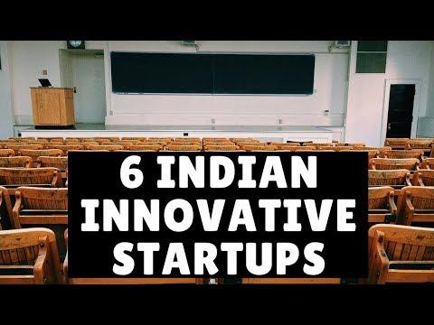 6 INDIAN INNOVATIVE STARTUPS | INDIAN STARTUP STORIES | NEW STARTUPS