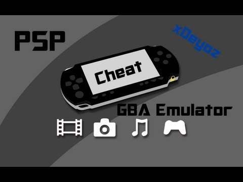 How to cheat with GBA Emulator PSP - Tutorial [Deutsch] [HD]