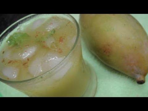 Raw Mango Juice In Tamil   Pachai Mangai Juice   Yummy  Recipe   Gowri Samayalarai