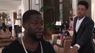 Kevin Hart Gets Caught Stealing Hotel Towels #WhatNow