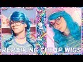 🍭MAKING PARTY STORE WIGS WEARABLE 🍭