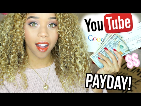 My First YOUTUBE PAYCHECK! How Much I Made? + How YouTubers Make Money!