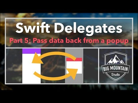 Passing Data with Delegates/Protocols (iOS, Xcode 9, Swift 4)