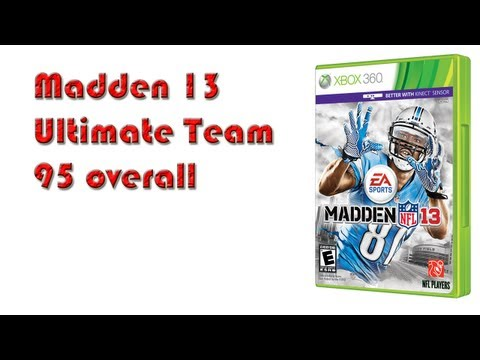 Madden 13 Ultimate Team: 26 packs = Five 1 Star players and a 95 overall Team