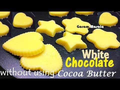 White Chocolate without using cocoa butter