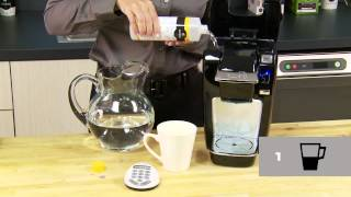 Descale Your Keurig Mini Plus Brewer Keurig How To Official Video