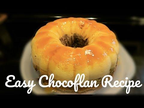 EASY CHOCOFLAN RECIPE