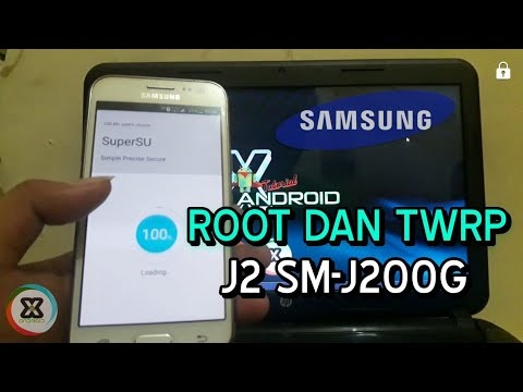 Root dan TWRP SAMSUNG J2 SM-J200G