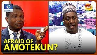 'We Are Afraid Of Amotekun', Miyetti Allah's Alhassan Disagrees With Olasupo Ojo Over Initiative