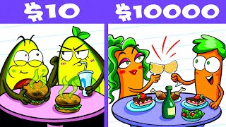 $10 Date vs $10,000 Date Challenge