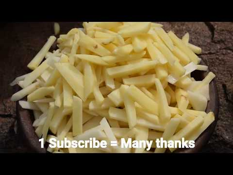 How to make spicy french fries village style.