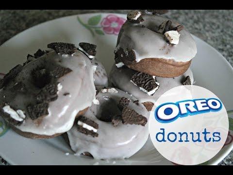 BAKED OREO DONUTS | EM'S BAKING