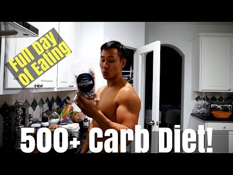 My 500+ High Carb Diet | Full Day of Eating | TRD Episode 16