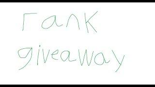 HYPIXEL RANK GIVEAWAY!