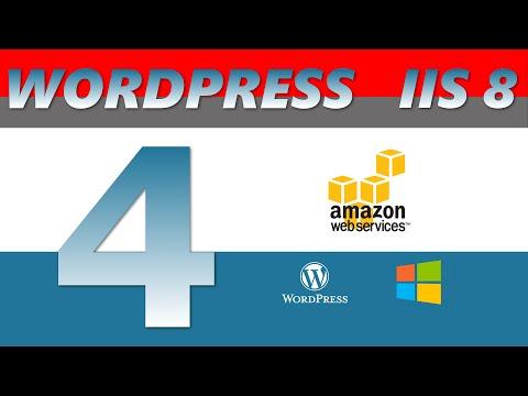 Install Wordpress on windows IIS 8 - AWS EC2 2016