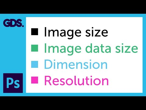 Image size, Dimension, & Resolution in Adobe Photoshop Ep4/33 [Adobe Photoshop for Beginners]