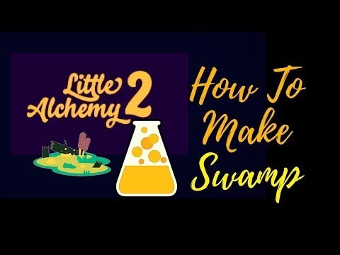 Little Alchemy 2-How To Make Swamp Cheats & Hints