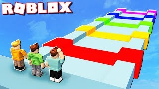 Roblox Adventures - CHOOSE THE RIGHT COLOR OR DIE IN ROBLOX! (Mega Fun Obby)