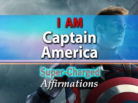 I AM Captain America - I AM Legendary - Super-Charged Affirmations