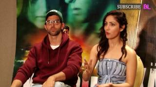 Hrithik Roshan and Yami Gautam cannot stop gushing about each other