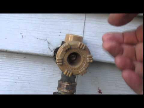 Broken Outdoor Faucet - Repair Suggestions?