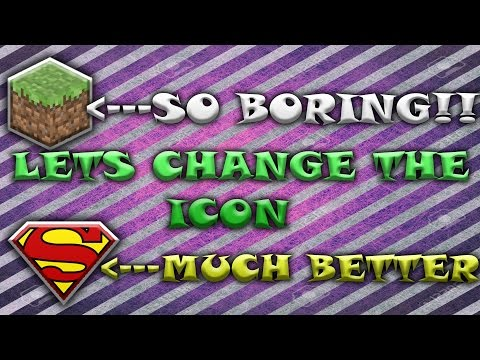 How to change the icon for your server in Minecraft - 1.8+ -Easy