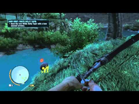 Far Cry 3 Rare Animal - White Belly Tapir Location