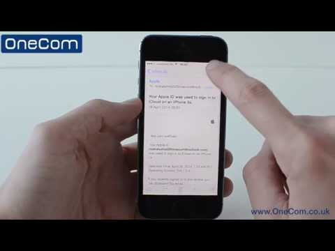 iPhone 5s: Email Setup and Tour On IOS 7