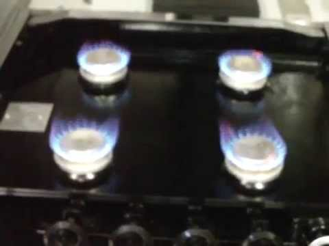 RV Stove top rust repair 4 (BURNERS ARE FIRED UP)