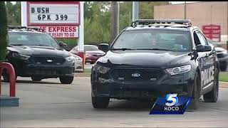 Men stage crash before robbing victims in OKC