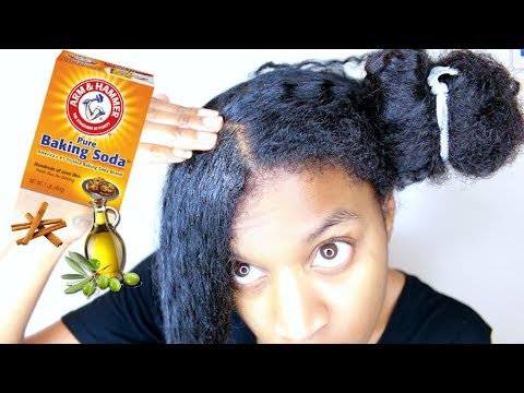 DIY Baking Soda Scalp Treatment For Clariyifing + Natural Hair Growth