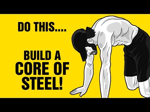Build a Core Of Steel With These 3 Strange Exercises That Are Better Then Plank