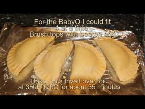 Weber BabyQ Carolyns Beef & Vegetable Pasties