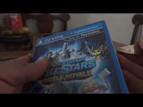 PS VITA Playstation allstars battle royale Unboxing Mexico