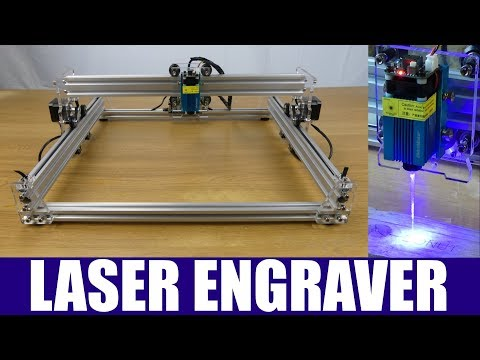 Eleksmaker EleksLaser A3 Pro Laser Engraver Build, Test & Review - 2018